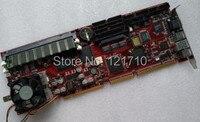 Промышленные Кристалл V10308 REV. 1,2 плата Socket 370 Intel 440BX чипсет Pentium III LAN VGA интерфейс SCSI