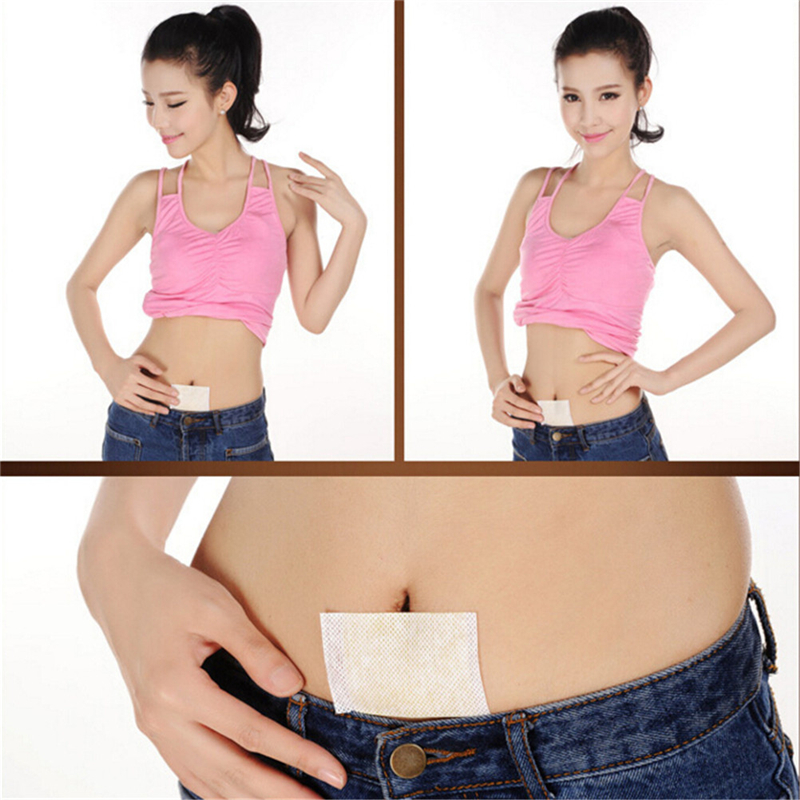 10 Pcs Slimming Patch Slim Navel Stick Slimming Diet Products Weight Loss Burning Fat Slimming Cream Body Slim Patches image