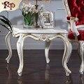 China melhor qualidade antique mão esculpida mobiliário de madeira-madeira maciça artesanato realeza mesa