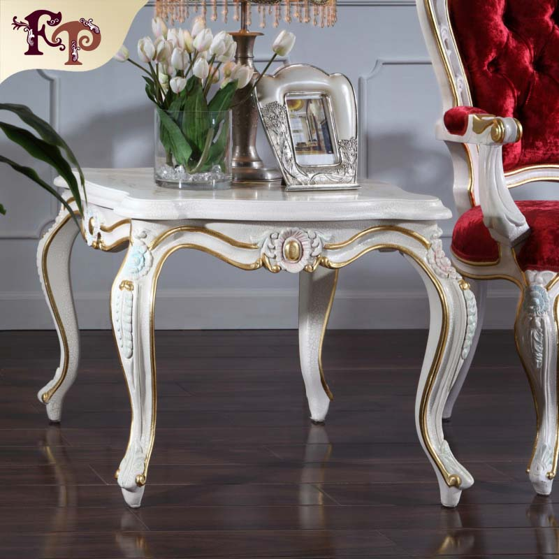 china best quality antique hand carved wood furniture - solid wood handcraft royalty  table china factory wholesale european antique furniture royalty handcraft classic table french baroque furniture