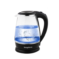 Household Electric Kettle 1800W Glass