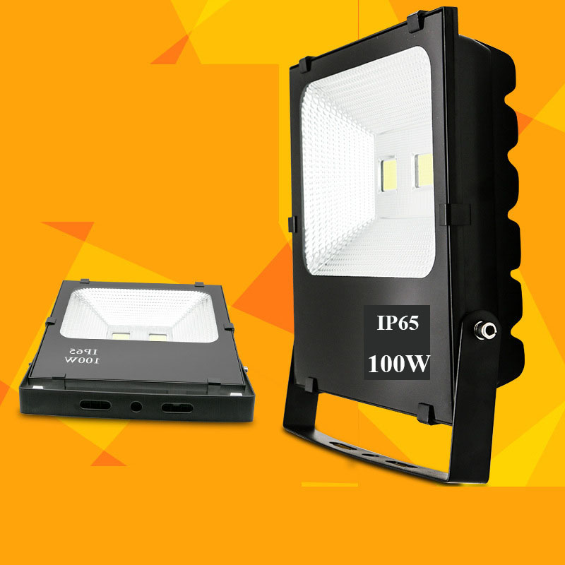 100W Integrated LED Flood Light Outdoor Waterproof Outdoor 50w LED Flood Light Tunnel Lights