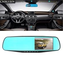 """Full HD 1080 P Samochód DVR Kamera 3.5 """"Lusterko wsteczne Tachograf przenośny Rejestrator Jazdy Dla Frod VW Audi BMW Lada Mazda Toyota"""