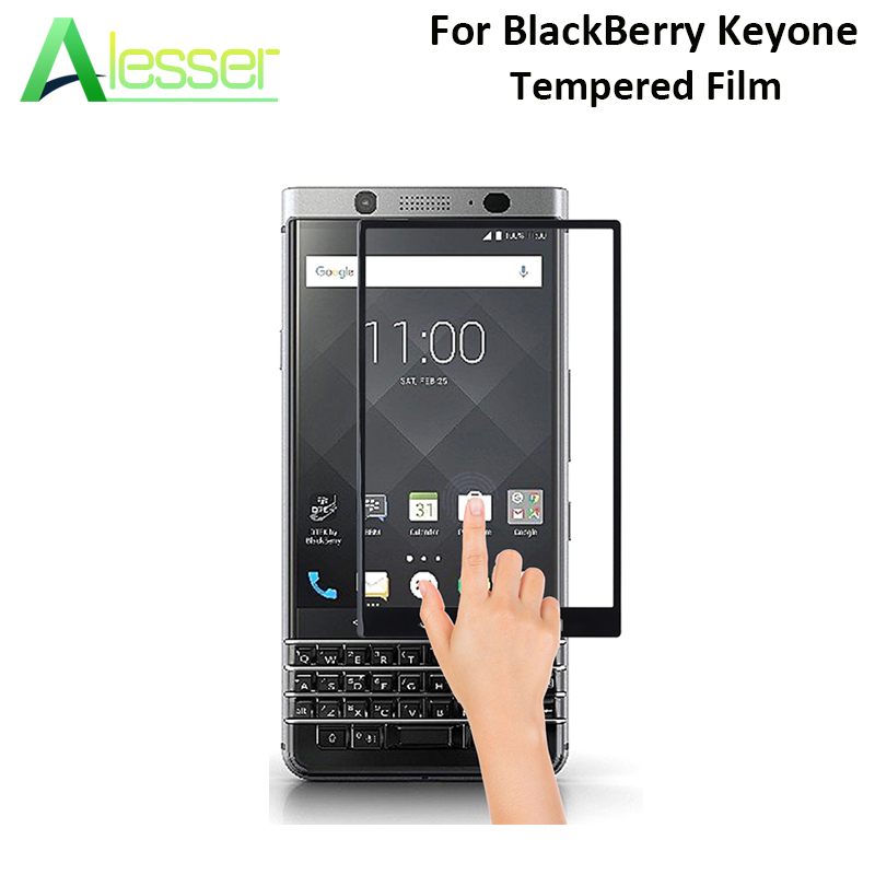 Alesser For BlackBerry Keyone Tempered Glass Premium Screen Protector Anti-shatter Film Replacement For BlackBerry Keyone 4.5''(China)
