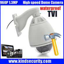 Freeship 960P HD TVI Camera Outdoor 36X Zoom 1.3MP HD TVI CCTV High Speed Dome Camera Support P2P Mobile Monitor