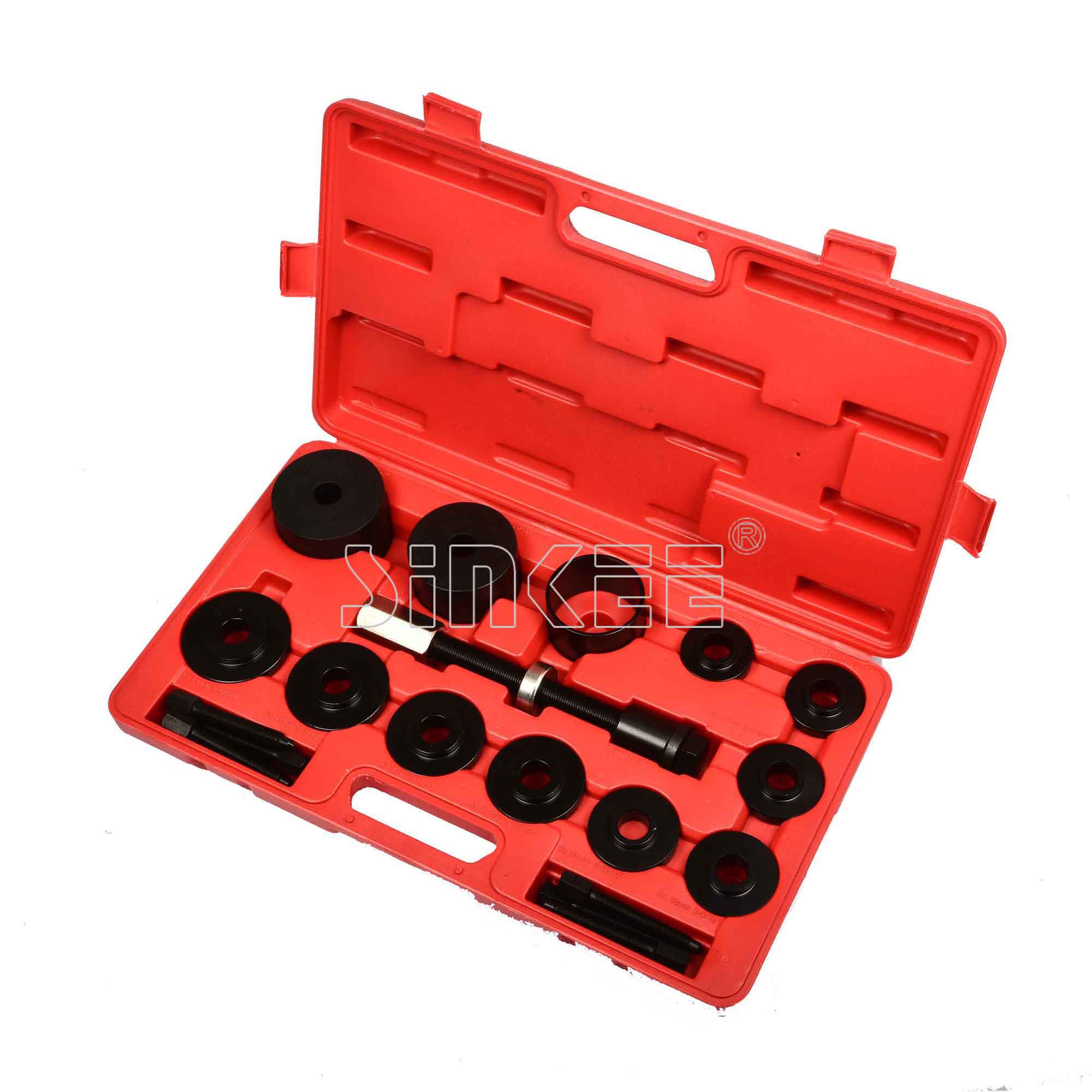 19 PC Master Front Wheel Hub Drive Bearing Removal Install Service Tool Kit carcam install kit tool