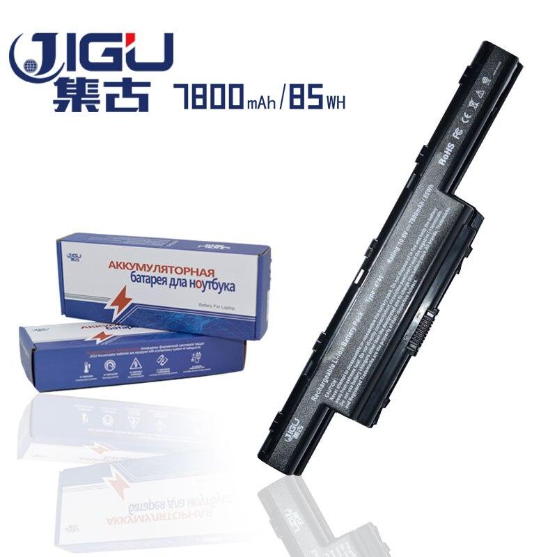 JIGU 7800mAH Laptop Battery For Acer V3-771G E1 E1-421 Aspire V3 V3-471G V3-551G V3-571G E1-431 E1-471 E1-531 E1-571 Series 6600mah laptop battery for acer aspire e1 e1 531g e1 571g v3 v3 471g v3 551g v3 571g v3 731 v3 771 v3 771g