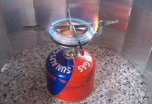 Outlife  Portable Stainless Steel Mini Camping BBQ Gas Stove