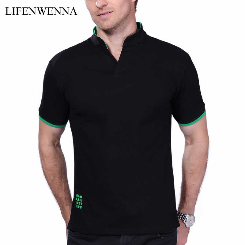 557dba29303 Plus Size 6XL 7XL 2019 New Fashion Brand Men s T Shirt Solid V Neck Short  Sleeve