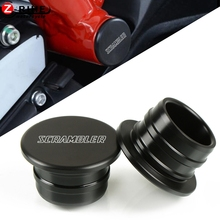For Ducati Scrambler-Flat Track Pro 2016 Motorcycle Accessories Nylon Frame Hole Caps Decor Cover Plugs Kit Swing Arm Hole Plugs цены