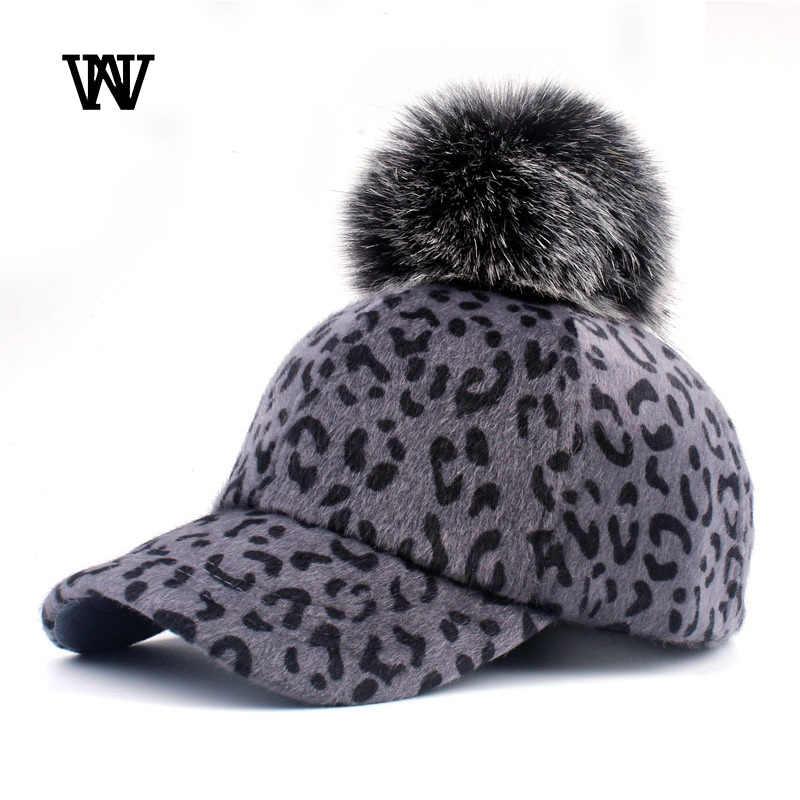 Зимний Леопардовый берет Bone для женщин, теплые плюшевые женские бейсболки, женские бейсболки в стиле хип-хоп, Женская шляпка для девочек, BQM-CZX64