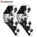 Engranajes motocicleta Protector kneepad de Scoyco K12 Protector de la rodilla de Motocross aprobación del CE Motocross Racing 2 unid / 1 Unidades