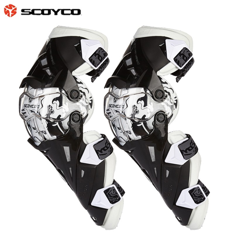 Prix pour Engrenages Moto De Protection genouillère Scoyco K12 Genou Protecteur de motocross Approbation de la ce Motocross Racing 2 PC/1 SET