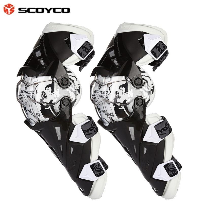 Gears Motorcycle Protective kneepad Scoyco K12 Knee Protector de motocross CE Approval Motocross Racing Knee 2PC/1SET
