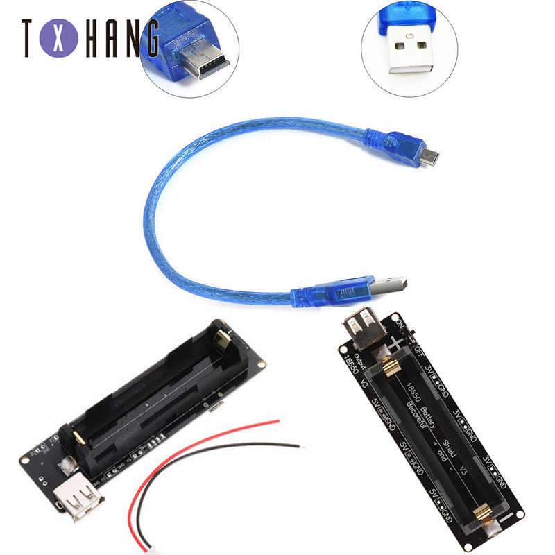 Raspberry Pi Wemos 18650 Battery Shield V3 ESP32 With USB Cable For Arduino