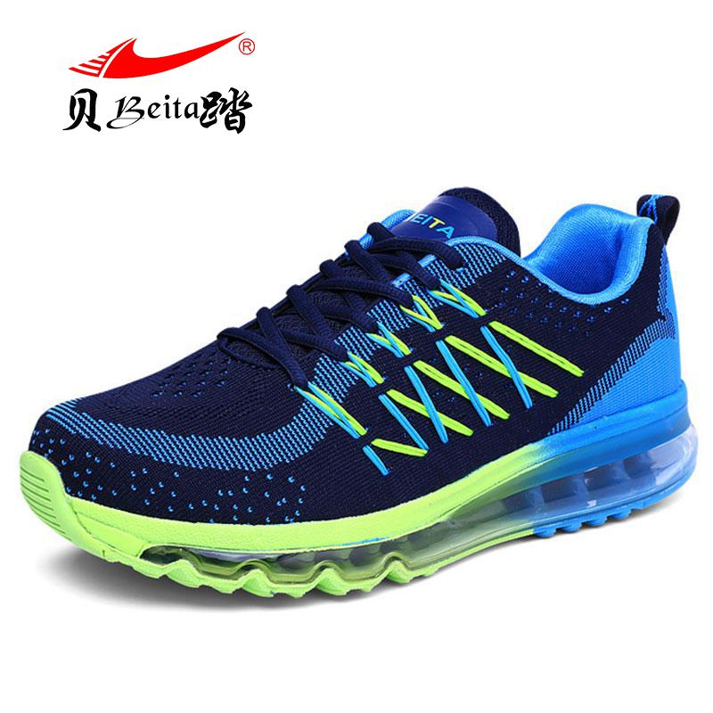 BEITA 2017 Running Shoes for Men Sport Shoes Light Sneakers Breathable Mesh Outdoor Shoe Sneaker kelme 2016 new children sport running shoes football boots synthetic leather broken nail kids skid wearable shoes breathable 49