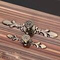 Moda Combinação Tira de Liga de Zinco de Bronze Antigo Porta Do Armário Móveis de Cozinha Gaveta Pull Knob Handle Europeia Maçanetas Puxa