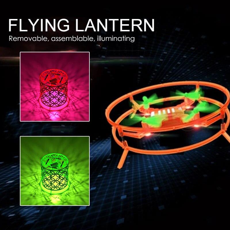 Игрушка самолет фонарь RC Дрон мини-самолет фонарь для интерактивной игрушка, Прямая поставка самолета