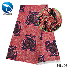 LIULANZHI african fabrics High quality nigerian satin fabric for occasion dress 5yards french NLL01-NLL19