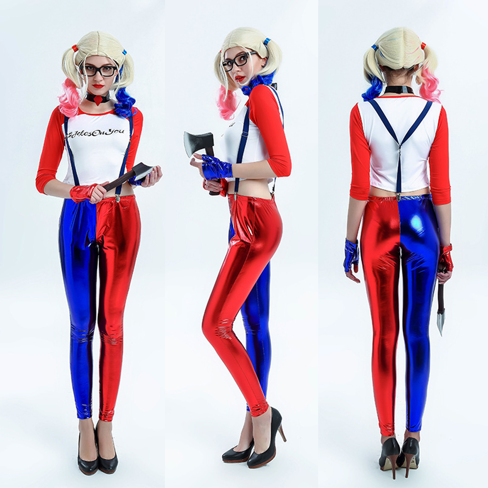 Popular Harley Quinn Costumes-Buy Cheap Harley Quinn Costumes lots ...