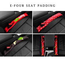 E-FOUR Flocking Cloth Seat Crevice Filling Cover Pad Activated Carbon&PP Cotton Padding Crack Purify Fresh Air Safe Accessories