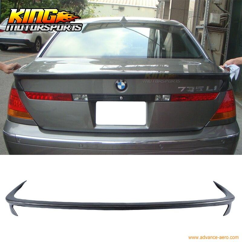 Pour 02 03 04 05 BMW E65 7-Series AC-S Style Spoiler de Coffre Arrière PU 745i 760i 760Li