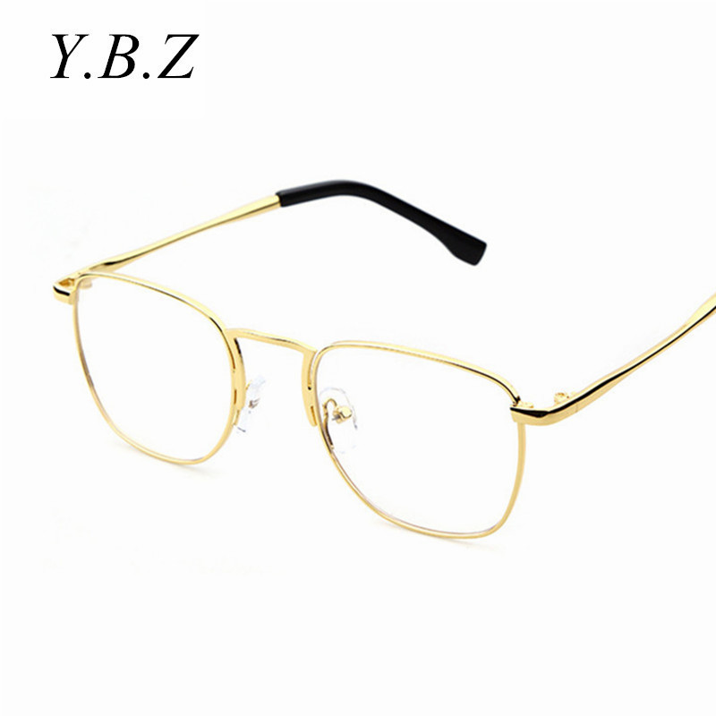2016 new men woman glasses mens optical frames clear lens eyeware square