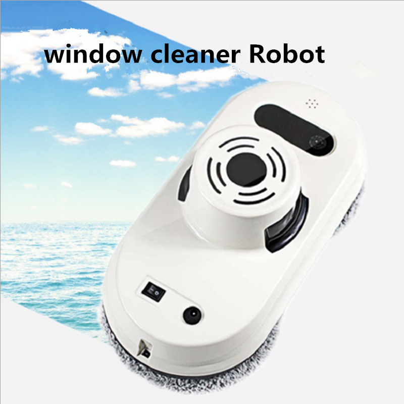 Remote Control Magnetic Window Glass Cleaner Robot Intelligent Automatic Window Cleaning Robot window cleaner robot w830 full intelligent automatic window cleaning robot framed and frameless surface both appliable
