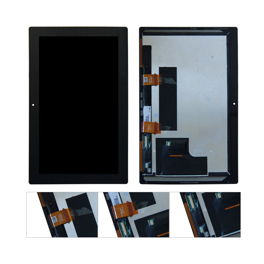 цена на For Microsoft Surface Pro 2 Pro2 1601 LCD Display Touch Screen Digitizer Assembly Replacement