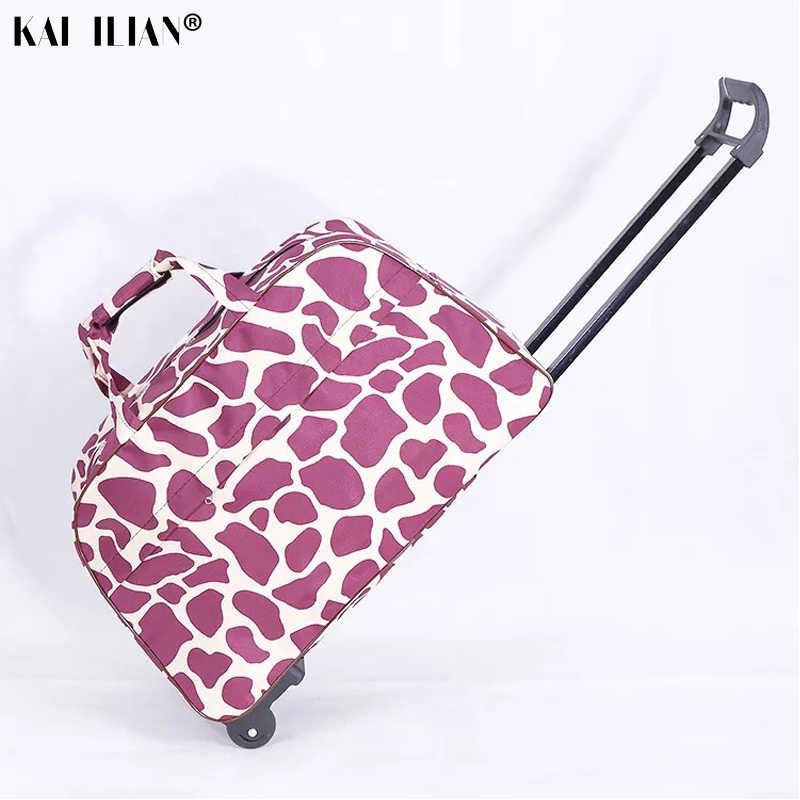 Сумка на колесиках для путешествий, чемодан на колесиках, багаж на колесиках, Женская Компактная сумка для поездки, лаконичная модная тележка, коробка для мужчин, чемодан