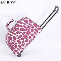 Travel bag Trolley suitcase on wheels carry ons rolling luggage Women hand luggage bag concise fashion trolley box men suitcase