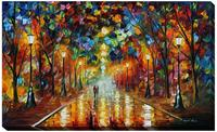 Modern Abstract Oil Painting on Canvas Handmade Landscape Wall Pictures Painting for Home Decoration Farewell to Anger Artwork