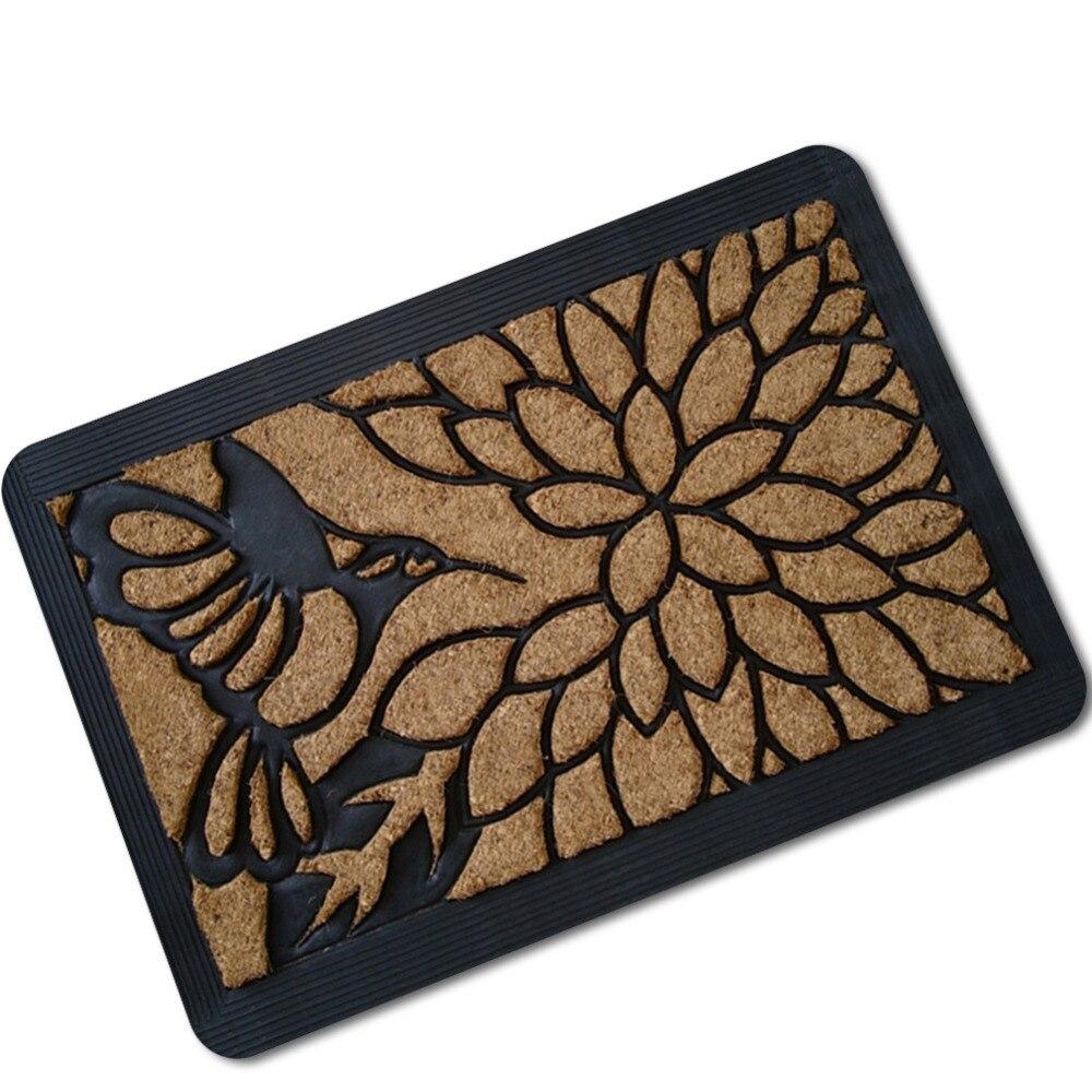 1pcs rugs 5d simulation printed pattern antislip carpet door mats doormats outdoor kithchen bathroom