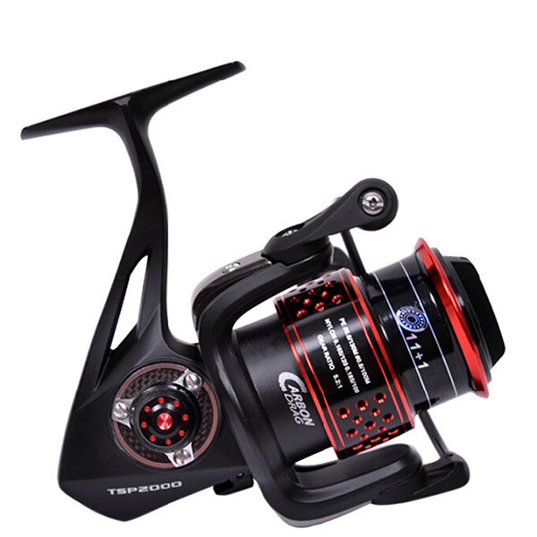 Nunatak 2000 Top Full Metal Aluminum Alloy 12BB Spinning Fishing Reel Fish Wheel For Small Template Lure With Spare Reel кастрюля oursson ca 2000 p bb