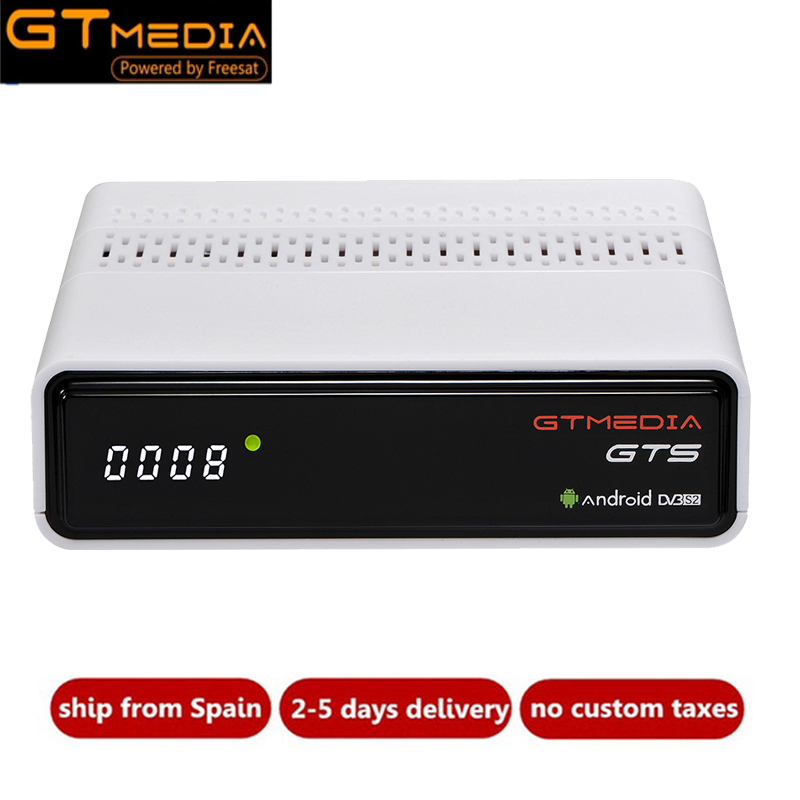 Freesat GTmedia GTS DVB-S2 Satellite Récepteur Amlogic S905D Android 6.0 Combo TV BOÎTE 2 gb RAM 8 gb ROM BT4.0 set top box