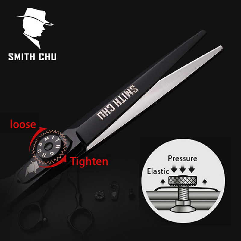 Smith Chu ножницы высокого качества 6 дюймов 440C из нержавеющей стали Профессиональный Салон Парикмахерская филировочные ножницы набор