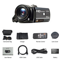 Ordro Digital Video Camera HDV D395 Infrared Night Vision Camcorder Wifi HD 1080P 30fps with Remote Control