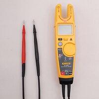 Fluke T6 600 зажим непрерывность тока Электрический тестер Бесконтактный Клещи для измерения напряжения