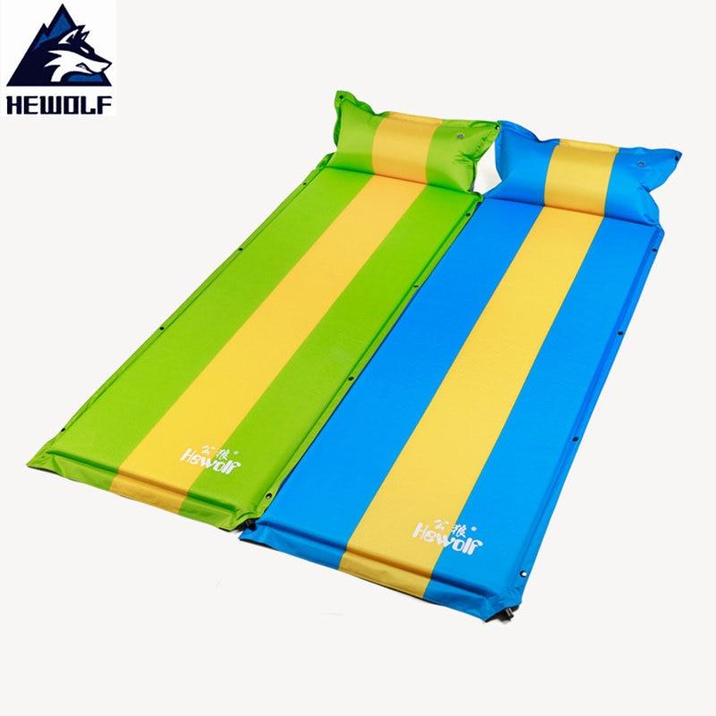 1 homme auto gonflant Air tapis de couchage Pad ultraléger imperméable Camping randonnée tapis de couchage Pad 192x66x3 cm tapis de couchage Pad