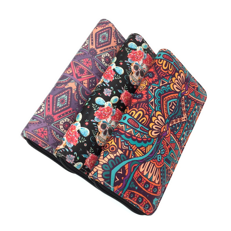 KANDRA 2019 Long Women's Wallets Purse Tribal Zippered Wallet Clutch Phone Bag Ladies Coin Purse Card Holder Female Handbag