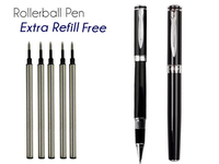 RollerBall Pen Black 0 5 Tip HERO 7035 Office And School Stationery Free Shipping