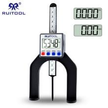 0-80 мм цифровой датчик высоты магнитные ноги электронный суппорт Глубина Gage для маршрутизатора столы Деревообработка измерительный инструмент
