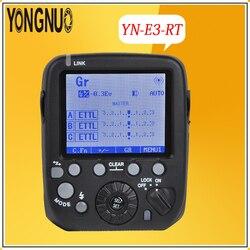 YONGNUO YN-E3-RT 2.4G TTL Radio Trigger HSS 1/8000s Master Flash Speedlite Transmitter as ST-E3-RT for Canon 600EX-RT,YN600EX-RT