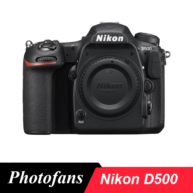 Nikon D500 DSLR Camera -20.9MP DX-Format -4K UHD Video -3.2