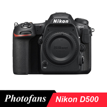 Nikon  D500 DSLR Camera -20.9MP DX-Format -4K UHD Video -3.2″ Tilting Touchscreen LCD -153-Poin AF System – Wi-Fi, Bluet