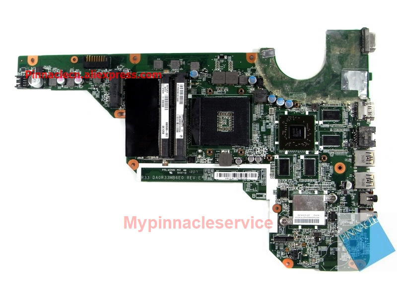 680569-001 680569-501 motherboard for hp pavilion G4-2000 G6-2000 g7-2000 DA0R33MB6F0 R33 цена