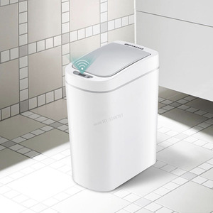 Image 5 - Original Youpin NINESTARS Smart Trash Can Motion Sensor Auto Sealing LED Induction Cover Trash 7/10L Home Ashcan Bins