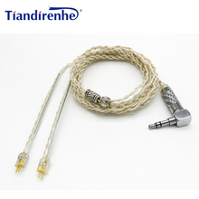 DIY 0,78 мм 2 Pin кабель для Уэстон 1964 w4r um3x es3 es5 Наушники Замена гарнитуры аудио кабели для IPhone xiaomi Android IOS