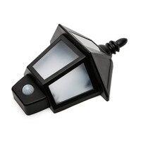 Led outdoor solar lights human body induction hexagonal wall lamp outdoor garden lamp wall light door caplights