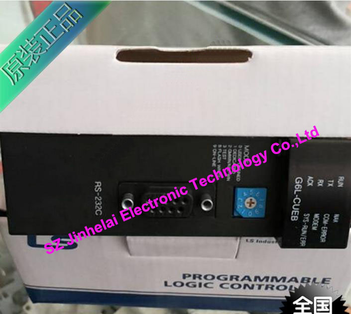 100% New and original  G6L-CUEB  LS(LG)  PLC,Computer Communication(RS-232C 1 channel) new original 1756 eweb plc 100 mbps communication rate controlnet communication module